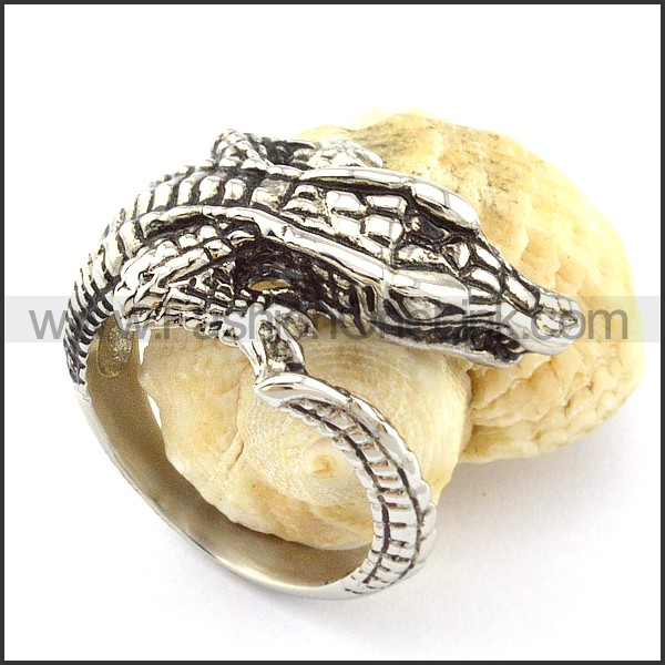 Stainless Steel Cayman Ring r000645