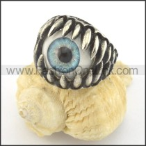 Prong Setting Eye Ring r001425