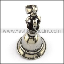 Delicate Stainless Steel Casting Pendant   p003910