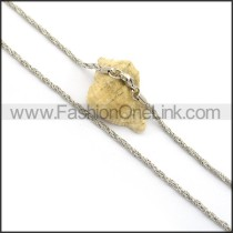 Twisted Rope Small Chain n000995
