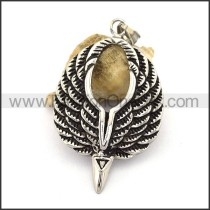 Delicate Stainless Steel Casting Pendant   p003050