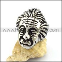 Albert Einstein Stainless Steel Ring r002906