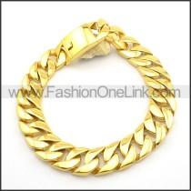 Golden Plated Interlocking Necklace n000893