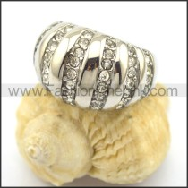 Exquisite Stone Stainless Steel Ring  r002199