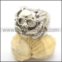 Delicate Skull Ring  r001911
