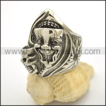 Unique Stainless Steel Skull Ring  r002522