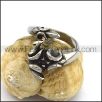 Exquisite Stainless Steel Casting Ring  r003305