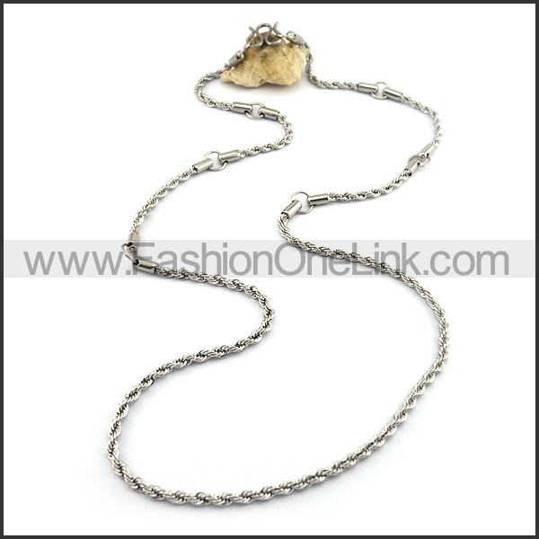 Twisted Rope Small Chain n001075