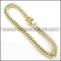 Golden Stamping Necklace    n000240