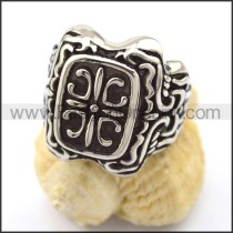 Vintage Stainless Steel Casting Ring  r001901
