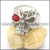 Stainless Steel Delicate Skull Ring   r002029