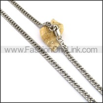 Interlocking Stamping Necklace n001070