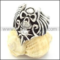 Stainless Steel Skull Design r000675