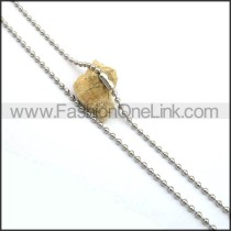 Classic Tiny Bead Small Chain n001031