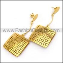 Square Mesh Earrings  e001200