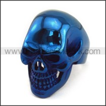 Exquisite Stainless Steel Skull Ring r003587