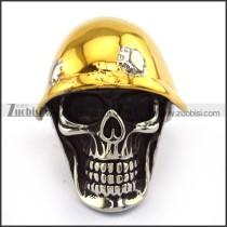 Stainless Steel Skull Ring  r003704