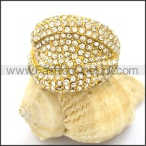 Delicate Shiny Stone Ring r002167