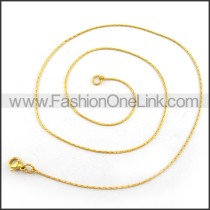 Exquisite Stainless Steel Plated Necklace n001219