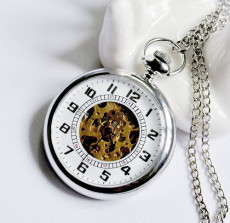 Vintage Pocket Watch Chain PW000222