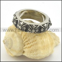 Exquisite Stainless Steel Ring r001433
