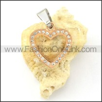 Exquisite Stainless Steel Plating Pendant  p000491