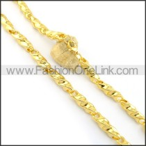 Delicate Golden Plated Necklace n000645