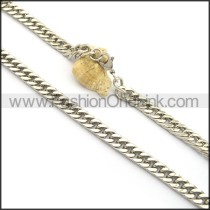 Classic Stamping Necklace n001002
