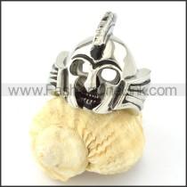 Stainless Steel Vintage Samurai Ring r000698