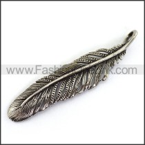 Delicate Stainless Steel Casting Pendant   p003877