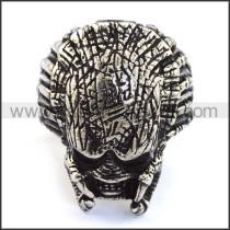 Stainless Steel Skull Ring  r003723