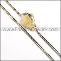 Good Quality Stamping Necklace n000671