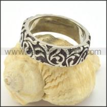Vintage Stainless Steel Ring r001371