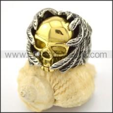 Dlicate Skull Ring r001571