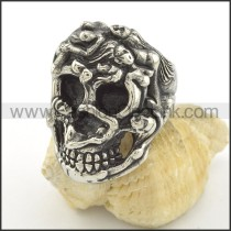 Exquisite Stainless Steel Ring r001507