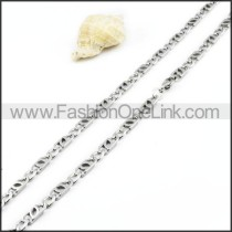 Delicate Stainless Steel Necklace    n000006
