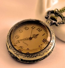 Vintage Pocket Watch Chain PW000336