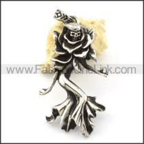 Exquisite Stainless Steel Casting  Pendant  p001154