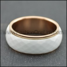 Classic Stainless Steel Ring  r003682