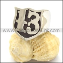 Number 13 Ring r002365