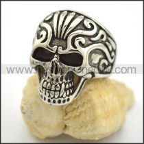 Exquisite Skull Stainless Steel Ring  r001704