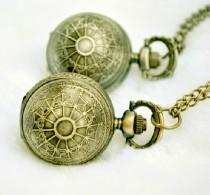 Vintage Ball Pocket Watch Chain PW000103