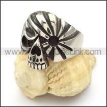 Stainless Steel Skull Ring r000430