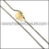 High Quality Staming Necklace n000343