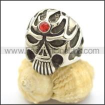 Delicate Stainless Steel Skull Ring r002246