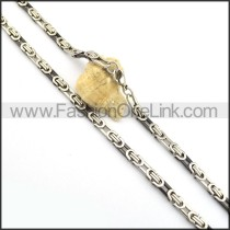 Vintage Plated Necklace n000839