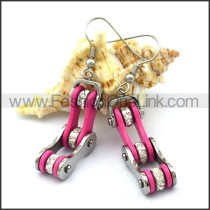 Pink Biker Earrings    e001059