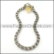 Chic Skull Necklace       n000207