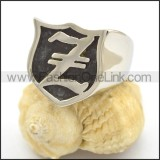 Letter Z Ring r002364
