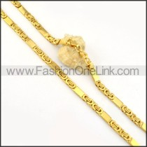 Exquisite Golden Plated Necklace      n000165